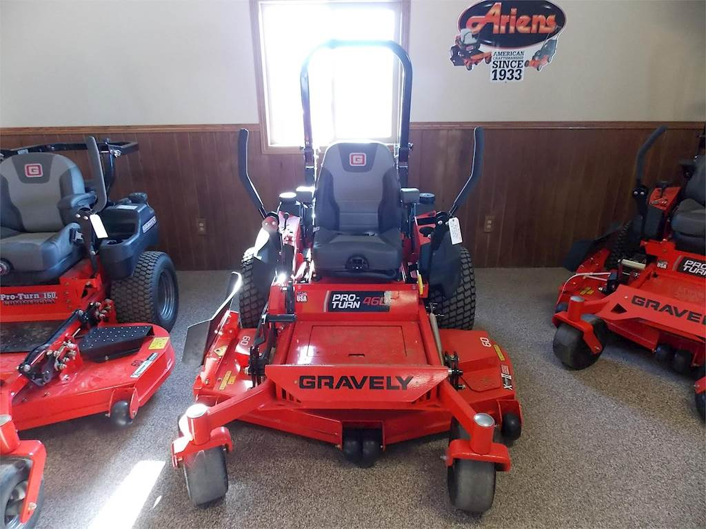 2018 Gravely Proturn 460 Zero Turn Mower For Sale