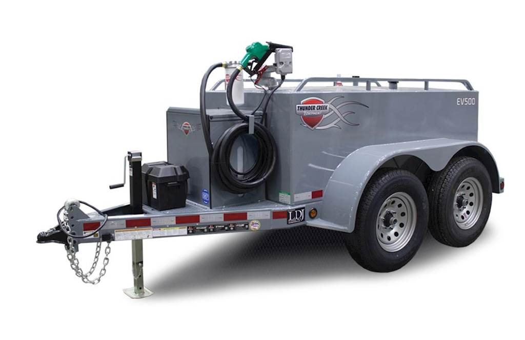 2019 THUNDER CREEK EQUIPMENT EV500 Gasoline / Fuel Tank Trailer For