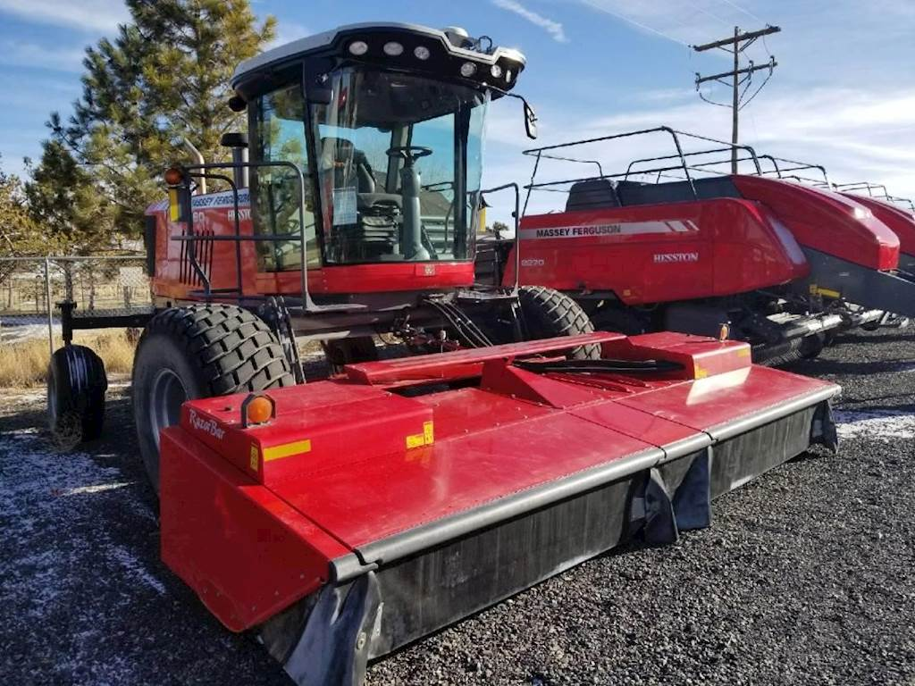 2015 Massey Ferguson WR9860 Windrower For Sale | Christmas Valley, OR |  70798 | MyLittleSalesman com