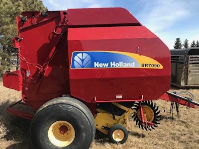 2008 New Holland BR7090 Round Baler For Sale | Glasgow, MT | 38166B