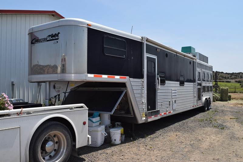 2005 Cimarron Norstar 4 Horse Trailer With Custom Living
