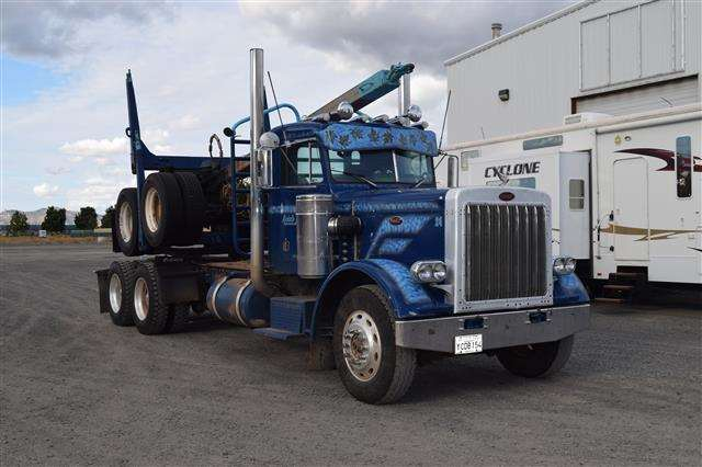 1978 Peterbilt 359 Short Hood Logging Truck For Sale ...