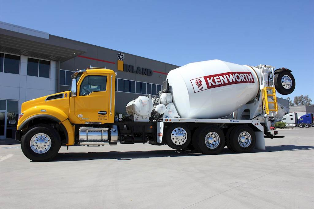 What Is My Truck Worth >> 2019 Kenworth T880 Mixer / Ready Mix / Concrete Truck For Sale | Tolleson, AZ | MIXER ...