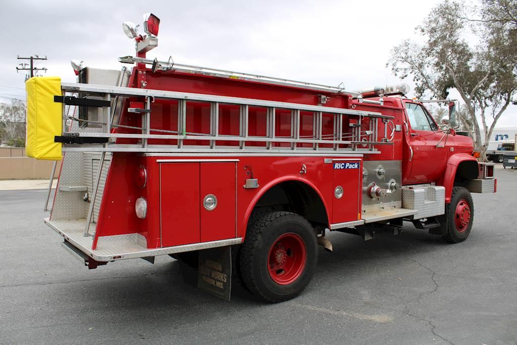 1984 Gmc 7000 4x4 Type 3 Pumper Fire Engine Truck For Sale 11 513 Miles Fontana Ca 10168597 Mylittlesalesman Com