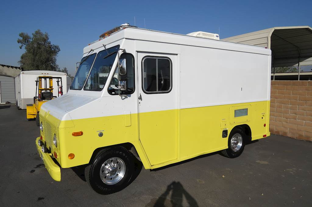Step Vans For Sale >> 1987 Chevrolet P20 10 Ft Step Van Motorhome Conversion For Sale