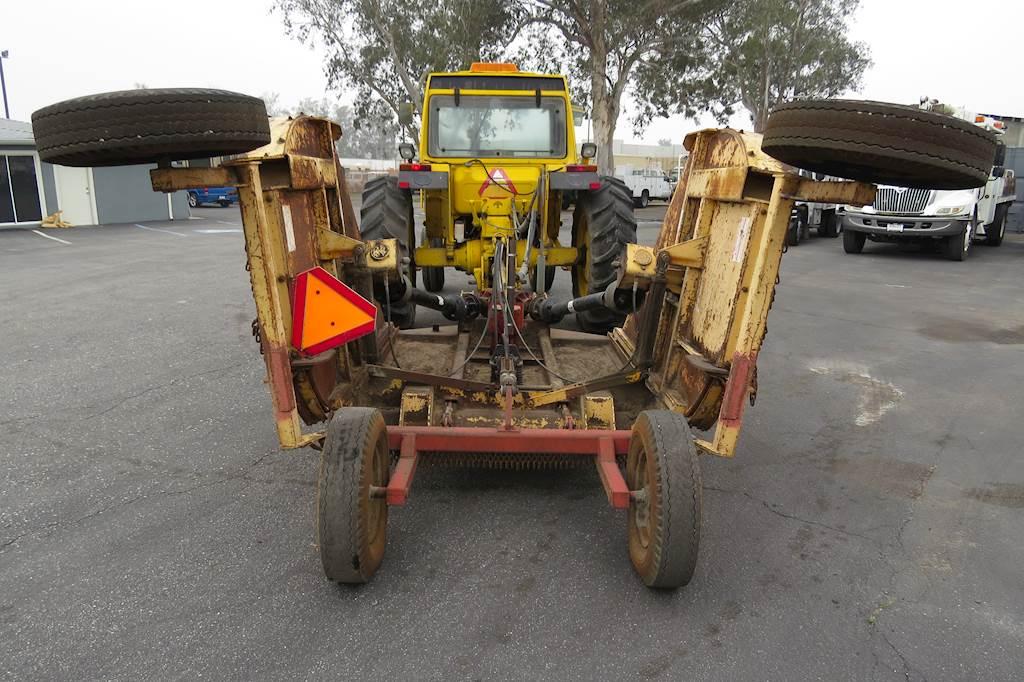 1991 Fiat Hesston 100-90 Tractor Bush Hog Rotary Cutter