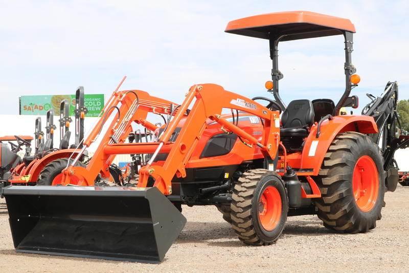 2019 Kioti NX5510H TLB Tractor Loader Backhoe Tractor