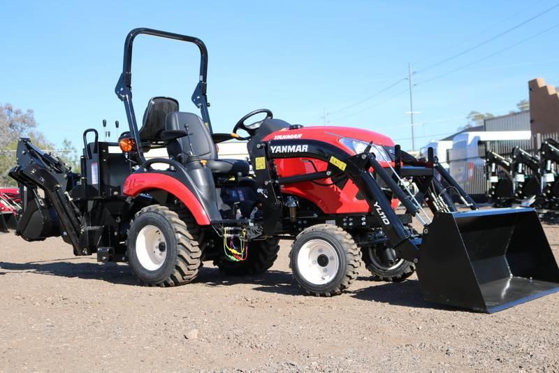 2018 Yanmar 221vh Tlb Tractor Loader Backhoe Tractor For