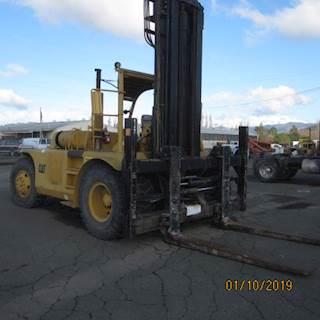 Caterpillar AM40 20 Ton 14' Mast Forklift