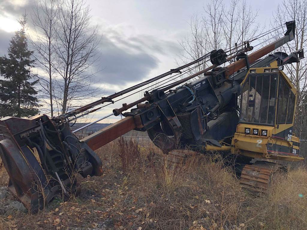 1999 Caterpillar 325BL Delimber with Limmitt 2200B Stroke Delimber Boom For  Sale | 100 Mile House, BC | 9552494 | MyLittleSalesman com
