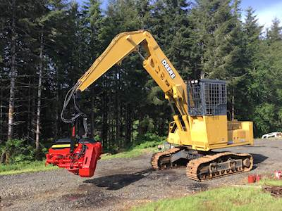 John Deere 370 Logging Processor with Waratah HTH 626