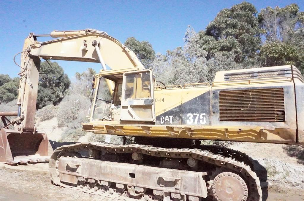 1992 Caterpillar 375 Excavator For Sale, 16,000 Hours | Alamo, CA | 9346004  | MyLittleSalesman com