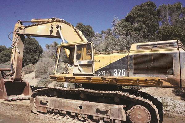 1992 Caterpillar 375 Excavator For Sale   Alamo, CA   9411711    MyLittleSalesman com