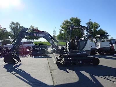2015 Terex TC50 Mini Excavator
