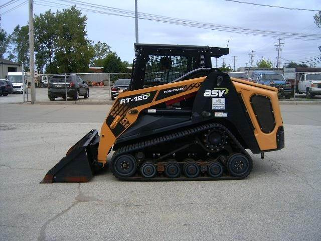 2018 ASV RT120 Compact Track Loader For Sale, 240 Hours