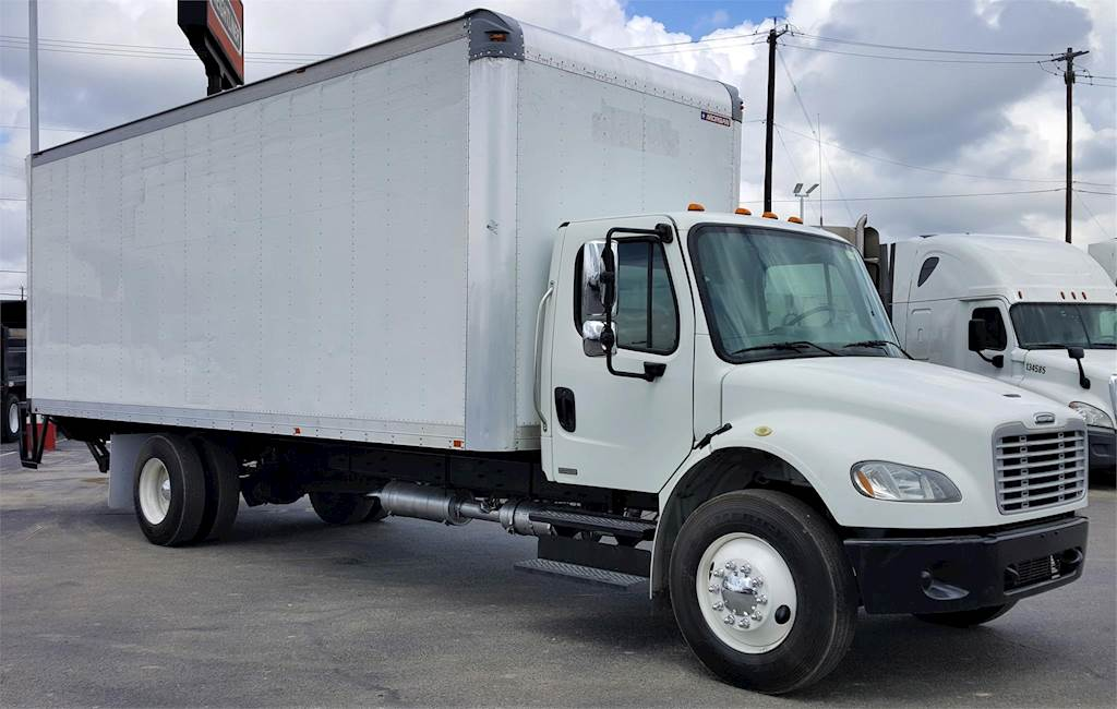 2012 Freightliner M2 106 Box Truck For Sale 173 319 Miles