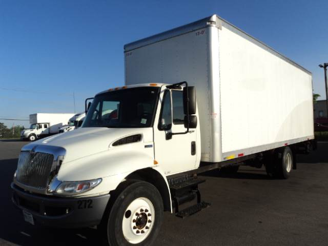 Admirable 2015 International 4300 Single Axle Box Truck Mf Dt466 215 215Hp 5 Speed Manual Evergreenethics Interior Chair Design Evergreenethicsorg
