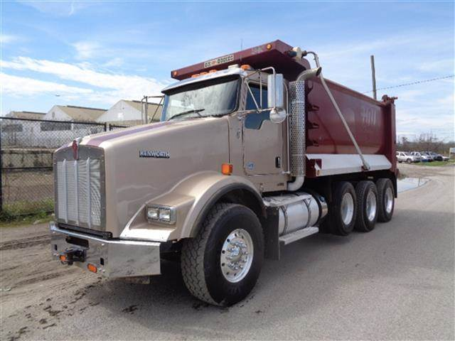 Manual Trucks For Sale >> 2016 Kenworth T800 16 Tri Axle Dump Truck 450hp Isx Stampede Dump 5 Speed Manual