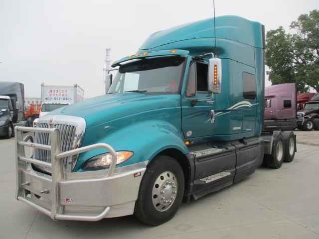 2014 International ProStar Sleeper Semi Truck - Cummins ISX/450, 450HP, 13  Speed Manual For Sale, 555,623 Miles | Houston, TX | 234156 |