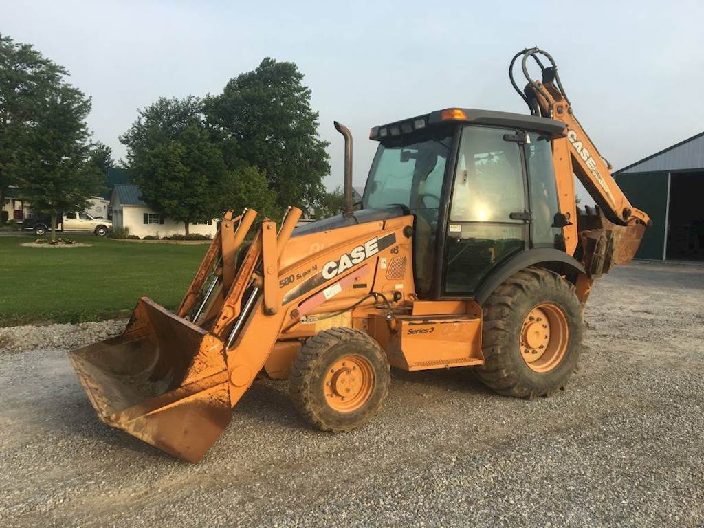 2008 Case 580-Super-M-3 Backhoe For Sale, 5,300 Hours | Williamsburg, IN |  ZID-128014 | MyLittleSalesman com