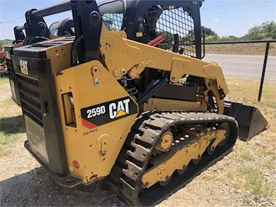 2017 Caterpillar 259D Crawler Loader