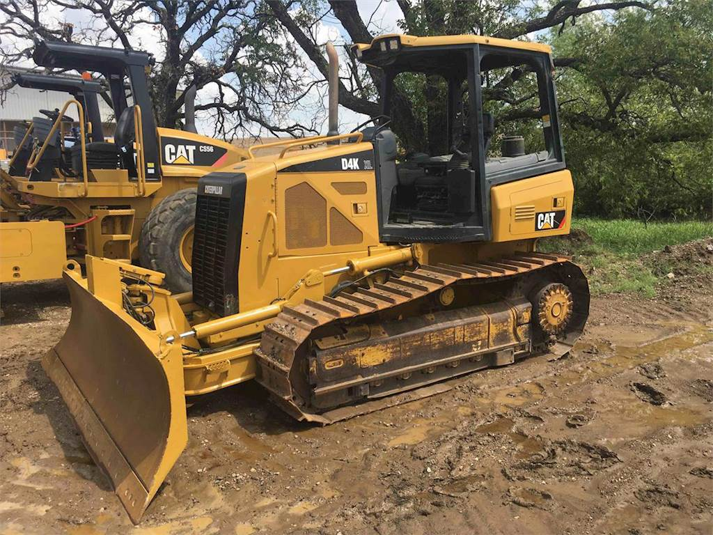 2008 Caterpillar D4k Xl Dozer For Sale 8142 Hours Austin Tx