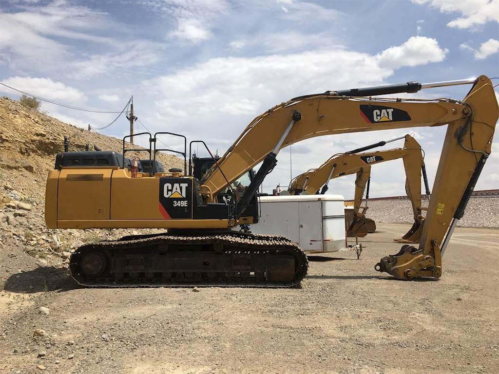 2012 Caterpillar 349E Excavator