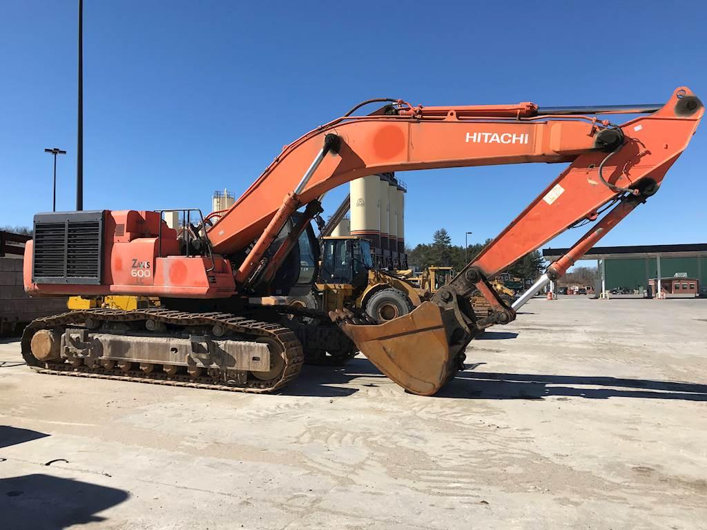2003 Hitachi ZX600LC Excavator For Sale, 19,815 Hours | Gorham, ME |  ZID-127503 | MyLittleSalesman com