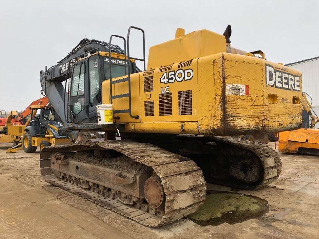 2010 John Deere 450D LC Excavator