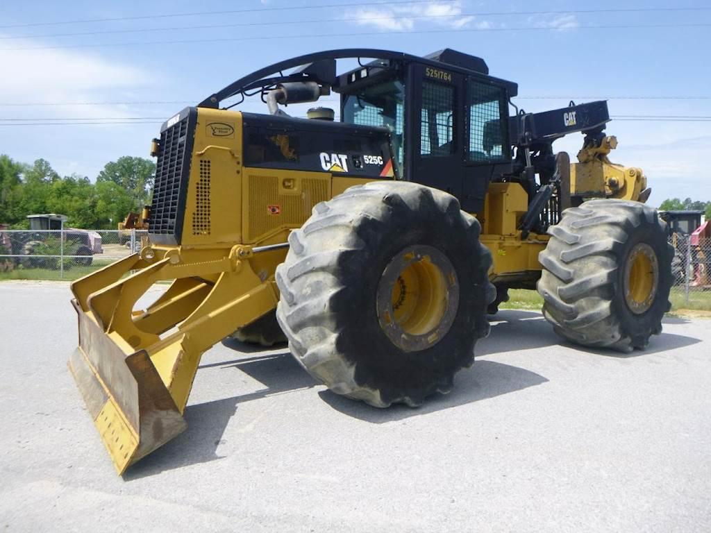 2013 Caterpillar 525C Skidder For Sale, 7,667 Hours | Lexington, SC |  F000565 | MyLittleSalesman com