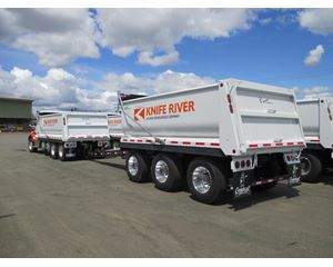 General Trailer parts, LLC Tandem, Three and Four Axle Trailers Dump Trailer