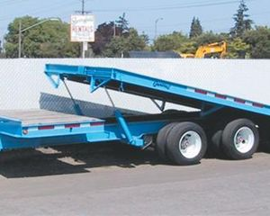 General Trailer 25-Ton Tilt Bed Trailer