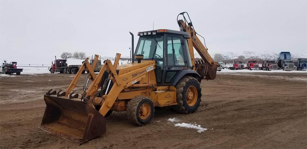Case 580 Super L No Forward Or Reverse