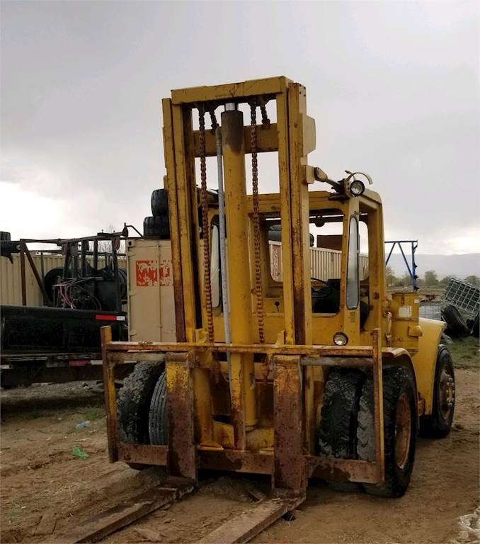 Hyster 87C4084M Pneumatic Tire Forklift For Sale | Jensen, UT | WVURF1 |  MyLittleSalesman com
