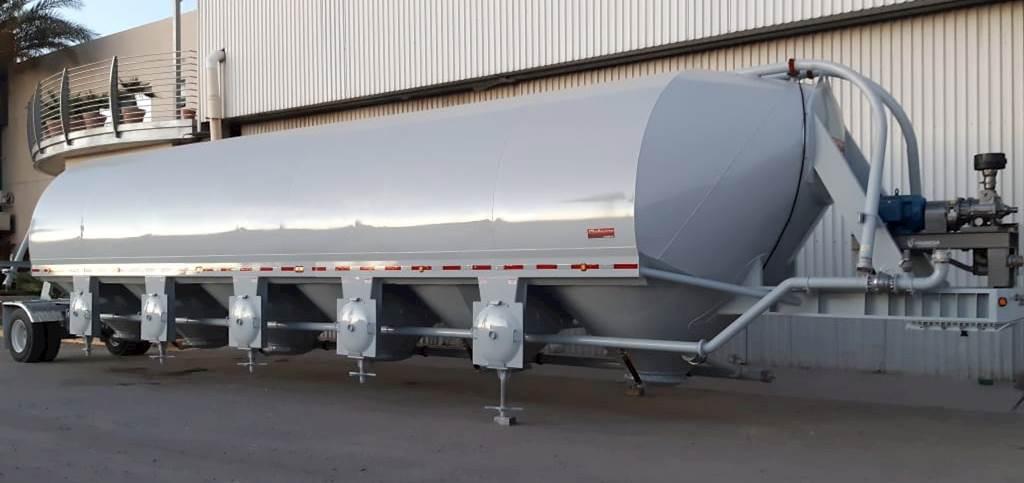 2021 Gallegos 4100 CU FT Portable Cement Storage Pig Silo ...