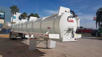 2019 Gallegos Steel 130 Barrel Vacuum Tank Trailer (5,500 Gallons) Vacuum  Tank Trailer