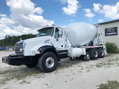 2007 Mack Granite CT713 Fully Refurbished Concrete Mixer Truck - Tri-Axle