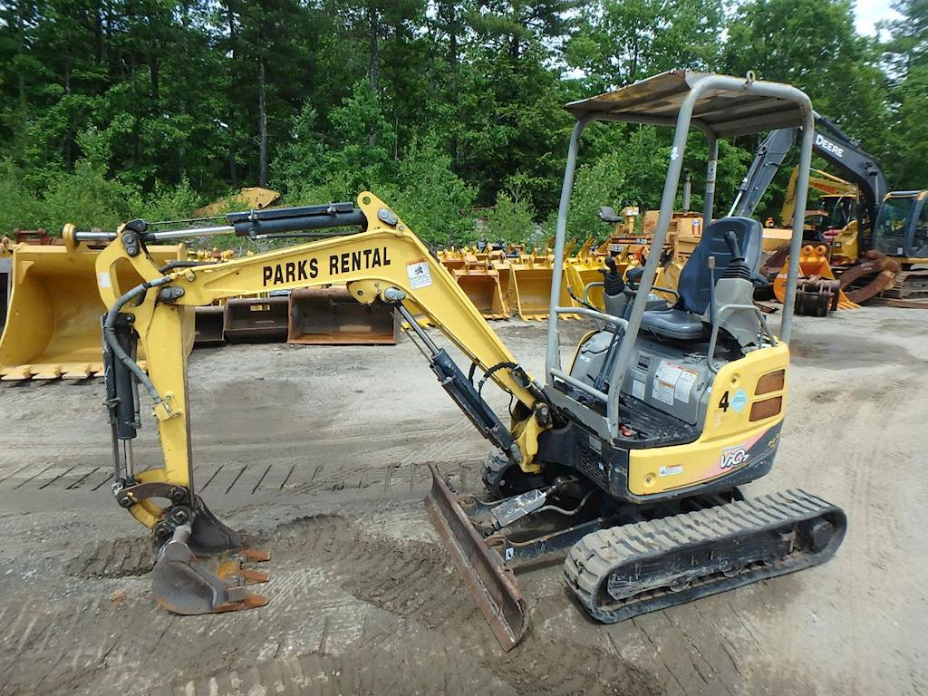 2013 Yanmar VIO17 Mini Excavator For Sale, 1,501 Hours   Phillipston, MA   MX617  
