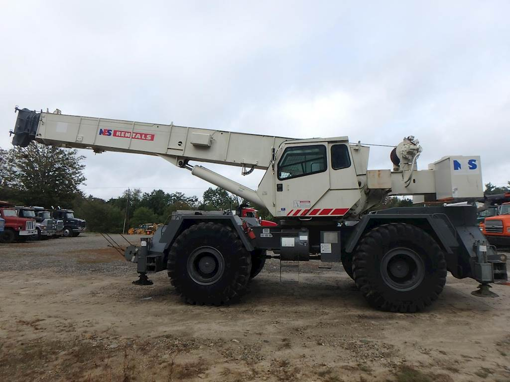 1999 Terex RT450 Rough Terrain Crane For Sale | Phillipston, MA | CR961 |  MyLittleSalesman com