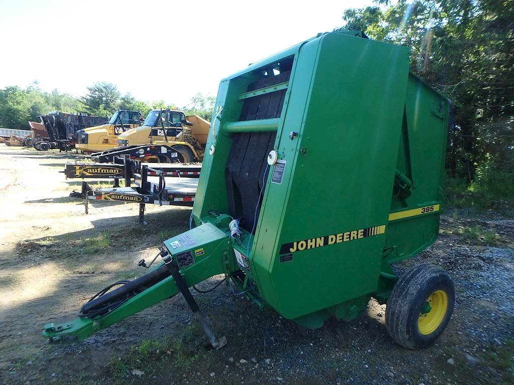 John Deere 385 Round Baler For Sale | Phillipston, MA | A-M125 |  MyLittleSalesman com