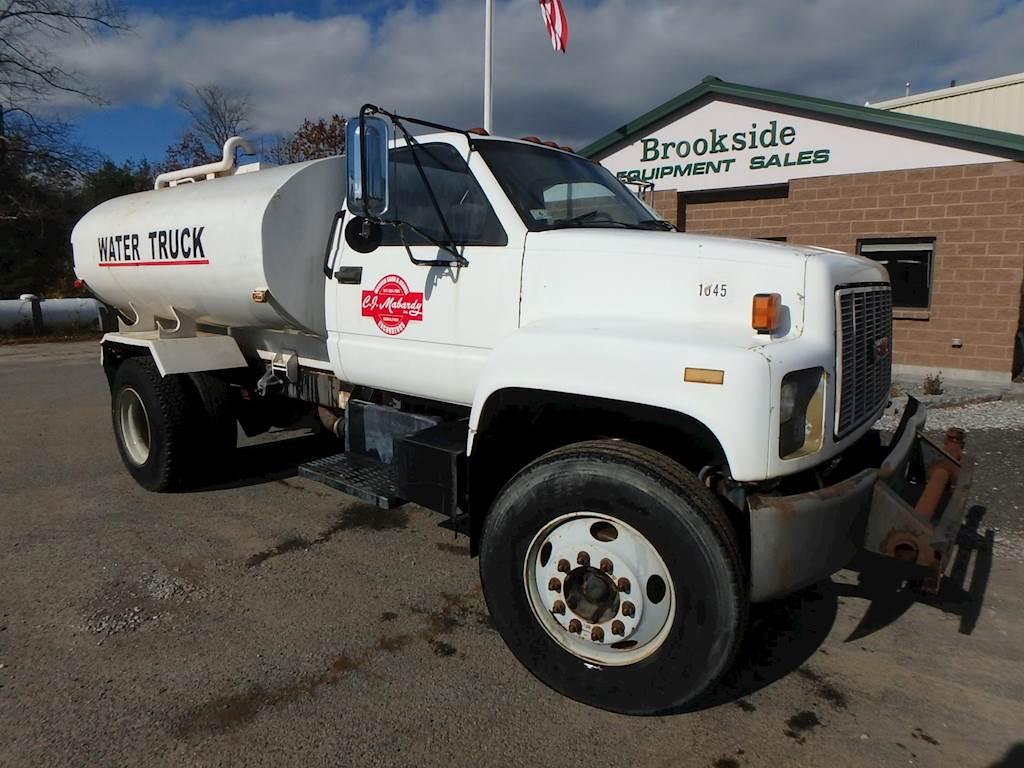1999 Gmc Topkick C7500 Water Truck For Sale Phillipston Ma