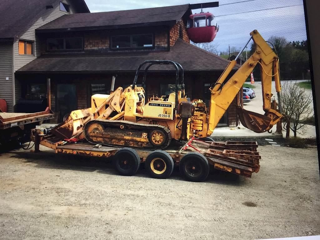 1973 John Deere 350B Backhoe For Sale   Upstate, NY   9625481    MyLittleSalesman com