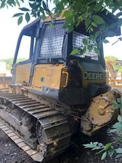 John Deere 700J Dozer with Winch
