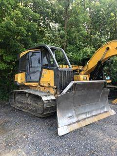 2003 John Deere 550H Dozer with Winch For Sale, 5,100 Hours
