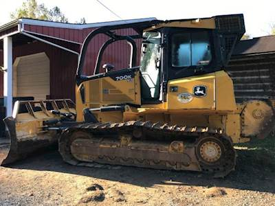 2003 John Deere 550H Dozer with Winch For Sale, 5,100 Hours | West