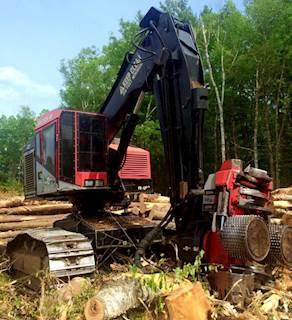 2008 TimberPro 735B Leveling Harvester