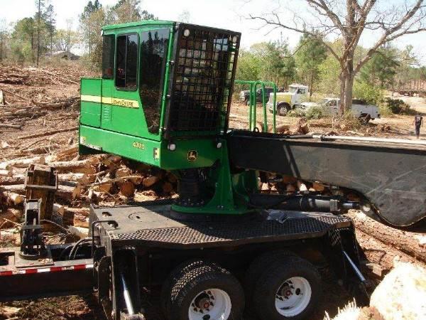 2014 John Deere 437D Log Loader with CSI 264 Delimber For Sale, 10,112  Hours   Tennessee, TN   9758074   MyLittleSalesman com