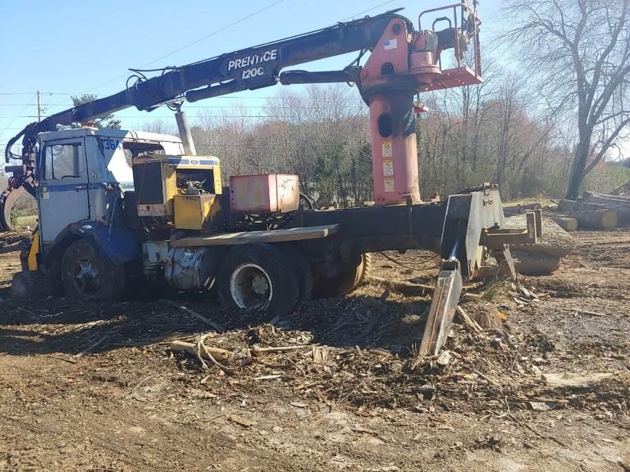 Prentice 120 Log Loader on Mack Truck For Sale | North Carolina, NC |  9679501 | MyLittleSalesman com