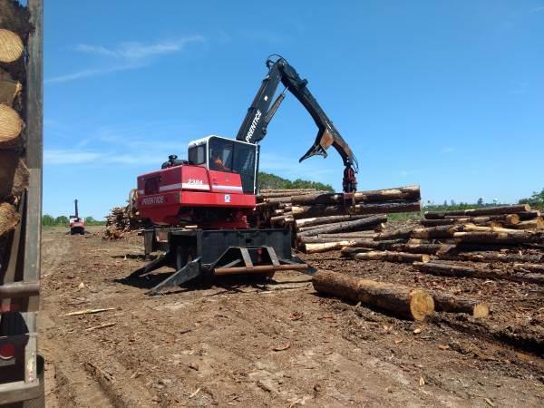 2008 Prentice 2384 Log Loader with Delimber
