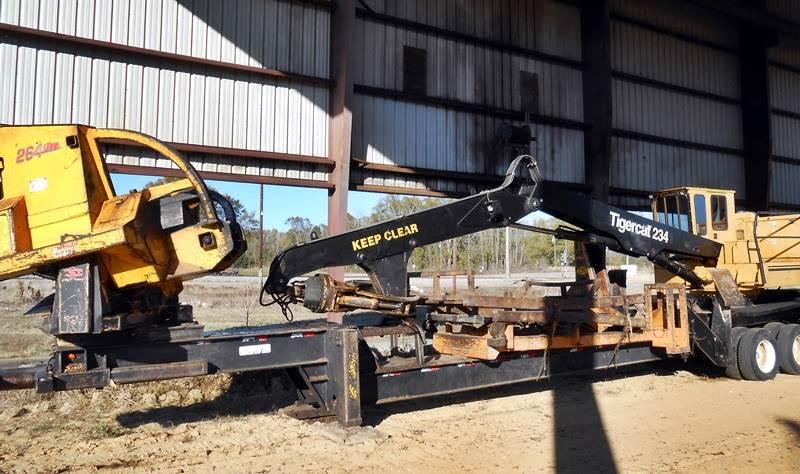 2012 Tigercat 234 Log Loader with CSI 264 Ultra Delimber